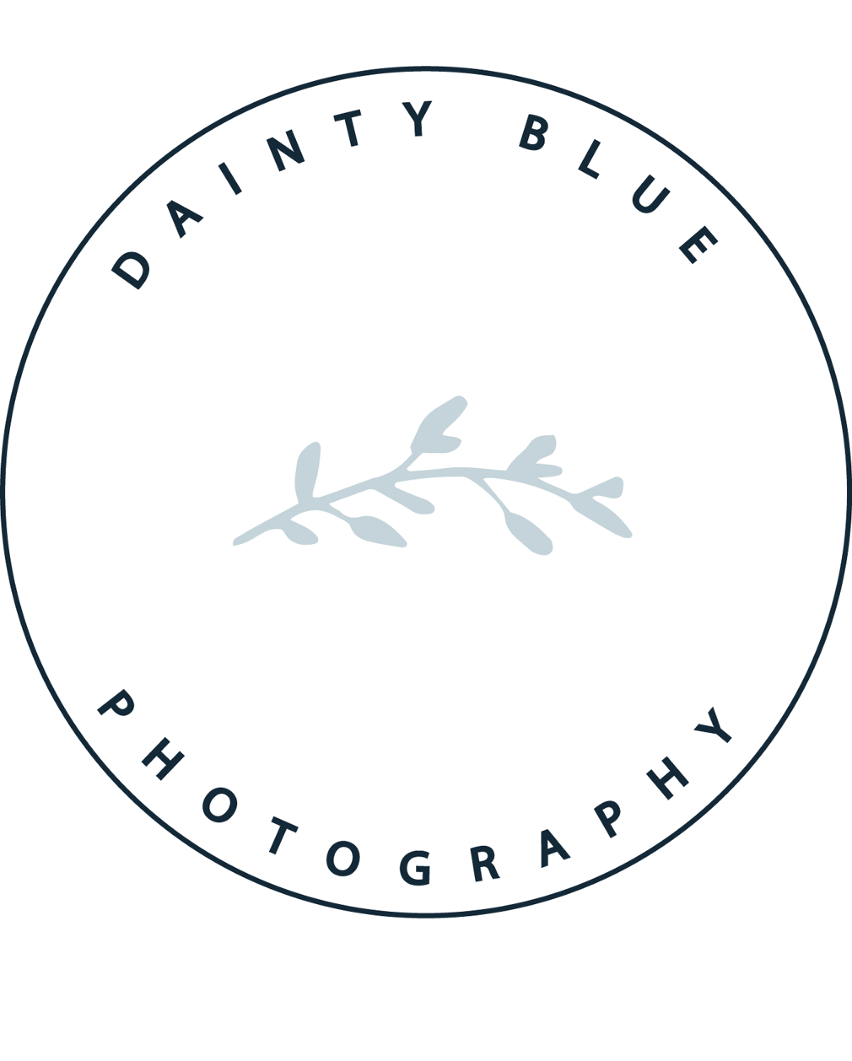 Dainty Blue Photography Logo